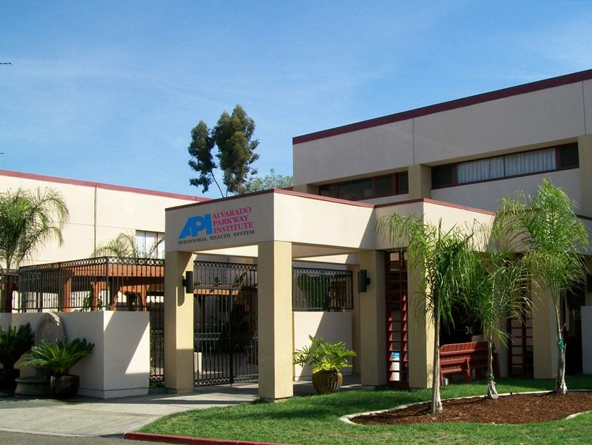 Alvarado Parkway Institute Behavioral Health System